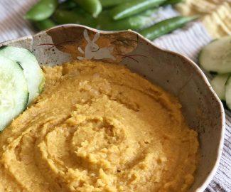 vegan red lentil dip